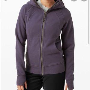 Lululemon Purple Full Zip Scuba Hoodie